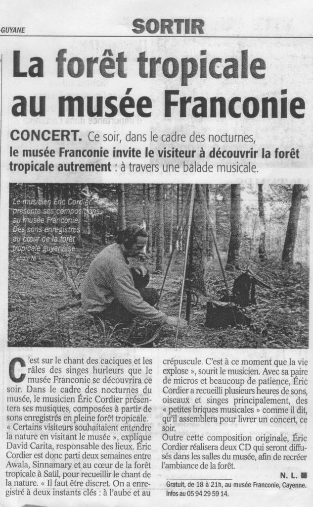Article France-Guyane