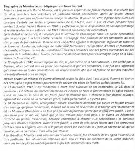Biographie de Maurice Leost par Laurent Leost
