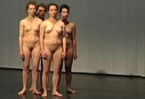La Lenteur des nus, une chorégraphie de Lotus Eddé Khouri